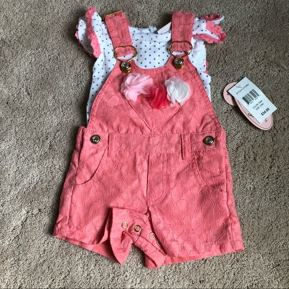 NWT bib overalls outfit